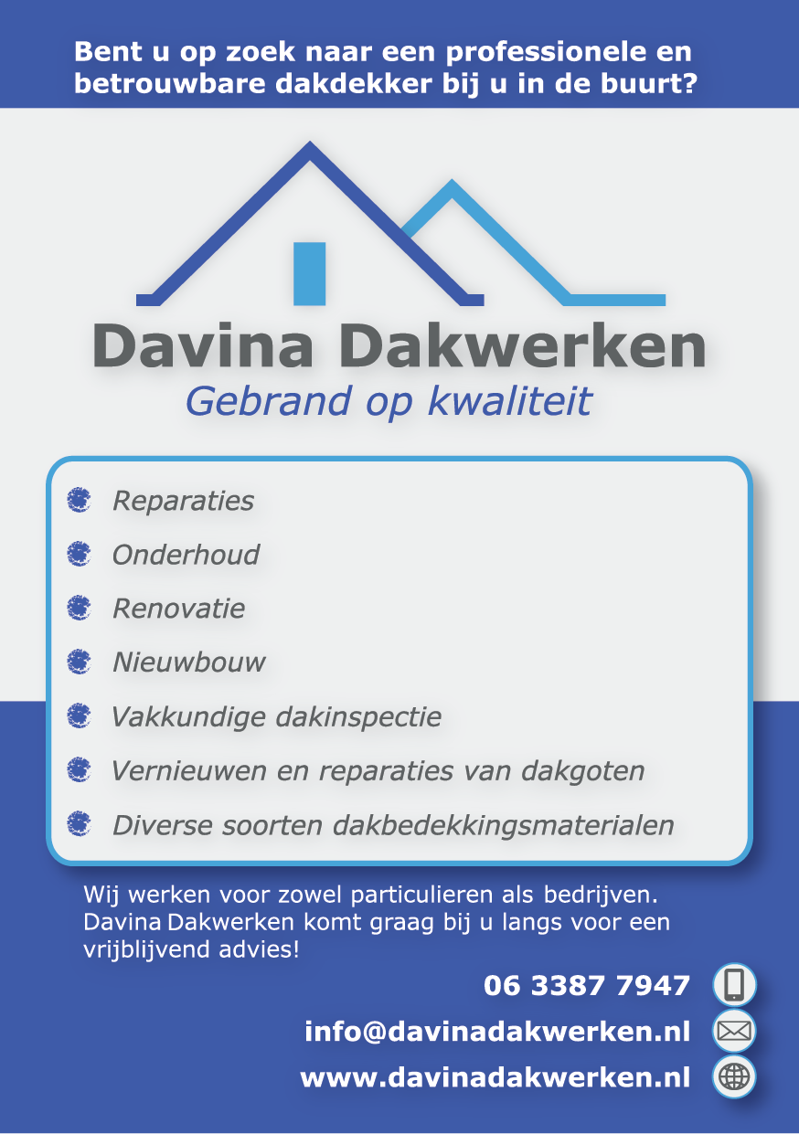 Garantie dakwerken